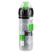 Bidon Elite Iceberg verde/alb transparent